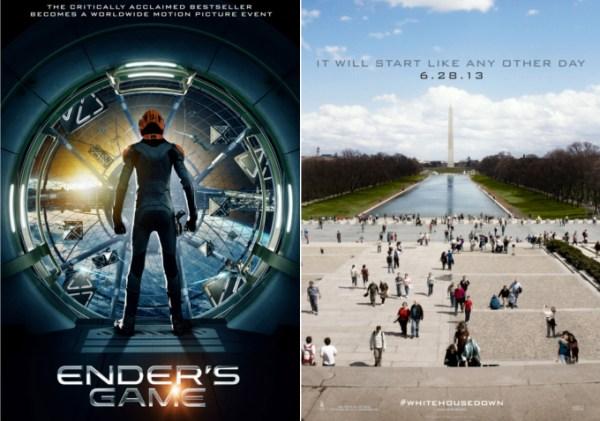 Teaser Posters Arrive For 'Ender's Game,' 'White House ...
