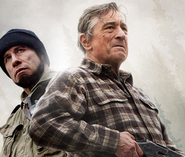 Hurtles Arrows At Southern War Vet Robert De Niro While Chasing Him Through The Appalachian Woods Thats The Entire Premise For Killing Season An