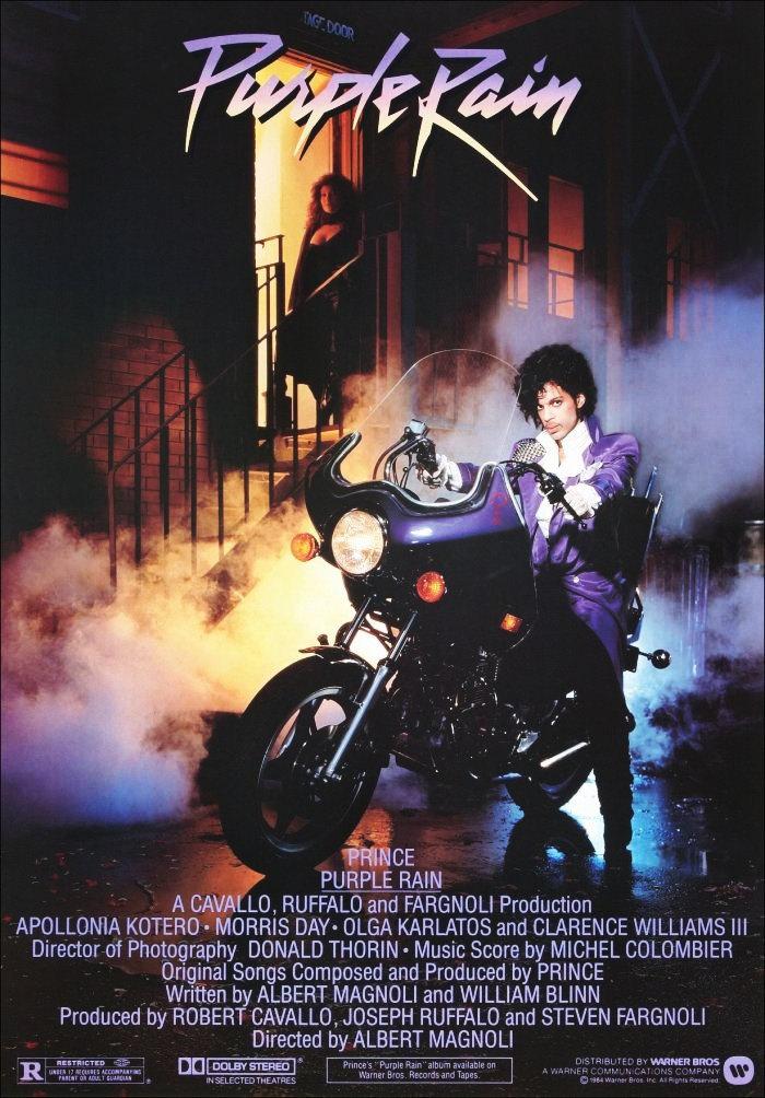 """Résultat de recherche d'images pour """"purple rain movie poster"""""""