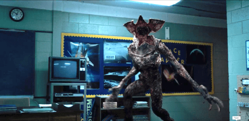 Image result for stranger things demogorgon