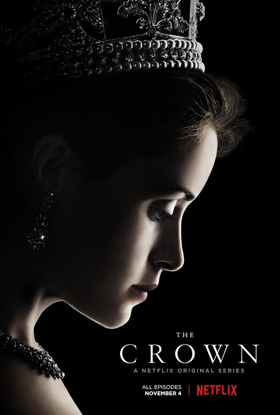 Image result for the crown poster netflix