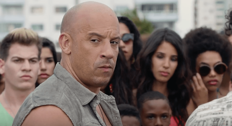 The Fate of the Furious Fast 8 Vin Diesel