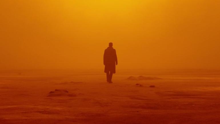 Shot from Blade Runner 2049, apocalyptic Las Vegas