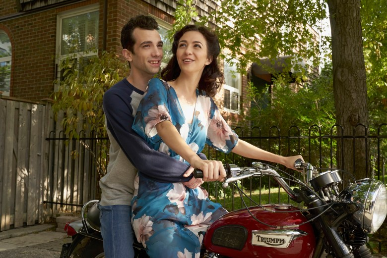"MAN SEEKING WOMAN -- ""Pad Thai"" -- Season 3, Episode 6 (Airs February 8, 10:30 pm e/p) Pictured (l-r): Jay Baruchel as Josh, Katie Findlay as Lucy. CR: Michael Gibson/FXX"