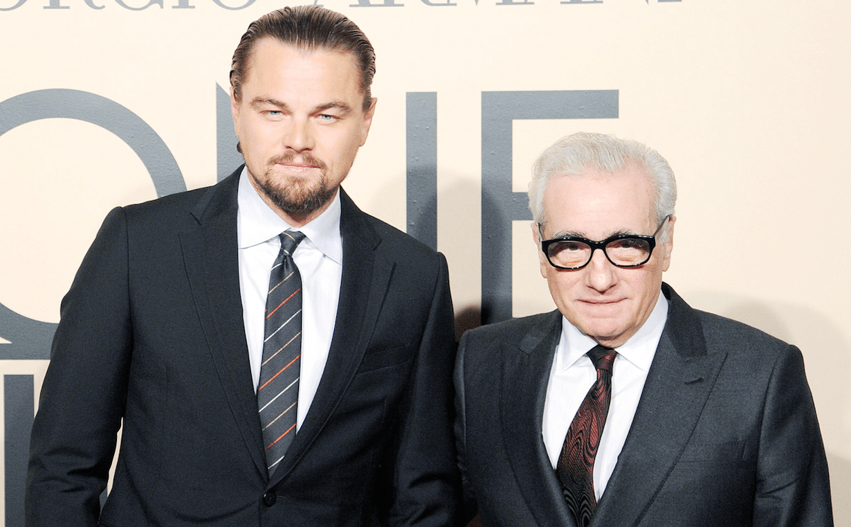 Image result for leo dicaprio and martin
