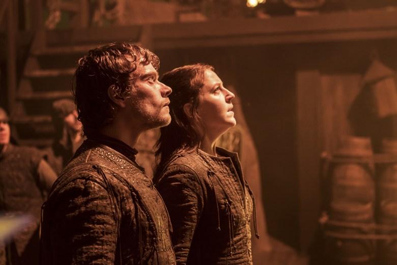 """Alfie Allen and Gemma Whelan, """"Game of Thrones"""""""