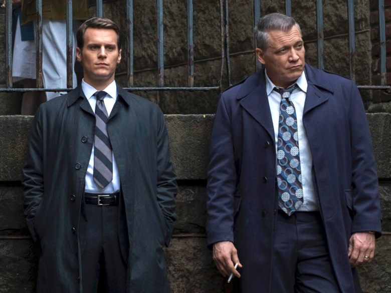 """Jonathan Groff and Holt McCallany, """"Mindhunter"""""""