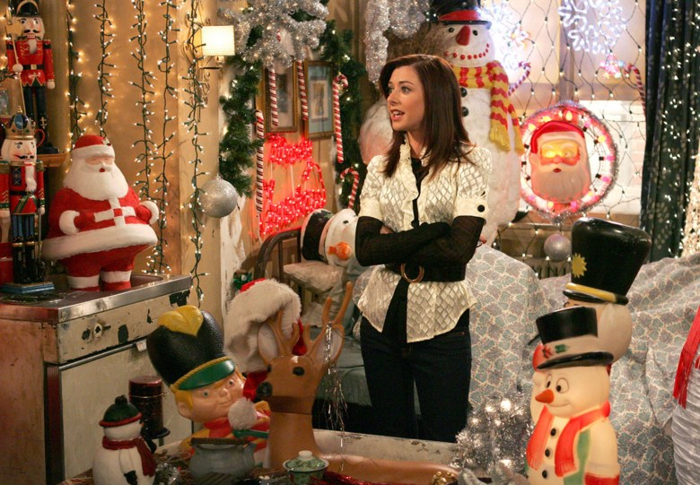 How I Met Your Mother How Lily Stole Christmas