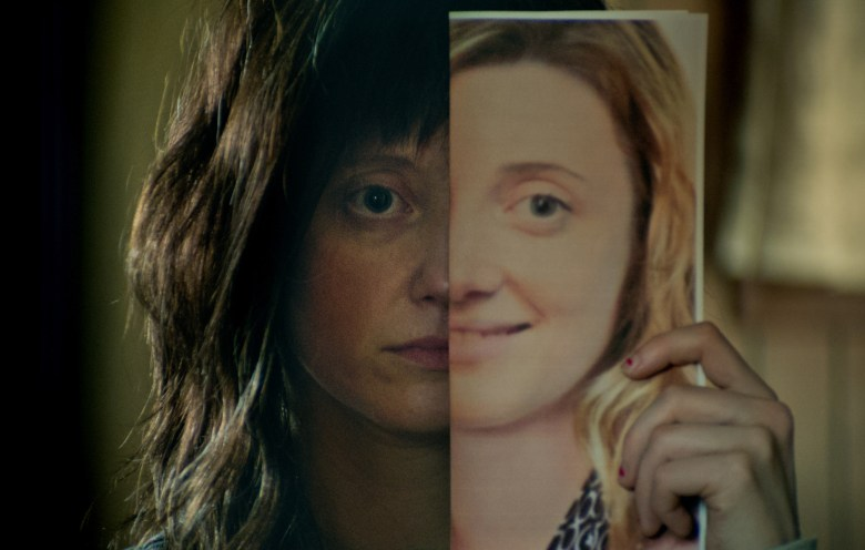Andrea Riseborough appears in <i>NANCY</i> by Christina Choe, an official selection of the U.S. Dramatic Competition at the 2018 Sundance Film Festival. Courtesy of Sundance Institute | photo by Zoë White. All photos are copyrighted and may be used by press only for the purpose of news or editorial coverage of Sundance Institute programs. Photos must be accompanied by a credit to the photographer and/or 'Courtesy of Sundance Institute.' Unauthorized use, alteration, reproduction or sale of logos and/or photos is strictly prohibited.