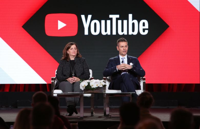 Susanne Daniels and Robert KynclYouTube 'Best Shot' TV show panel, TCA Winter Press Tour, Los Angeles, USA - 13 Jan 2018