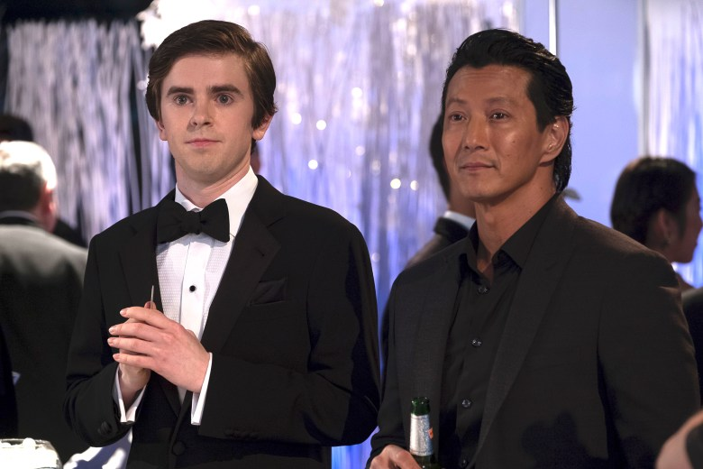 "Freddie Highmore and Will Yun Lee, ""The Good Doctor"""