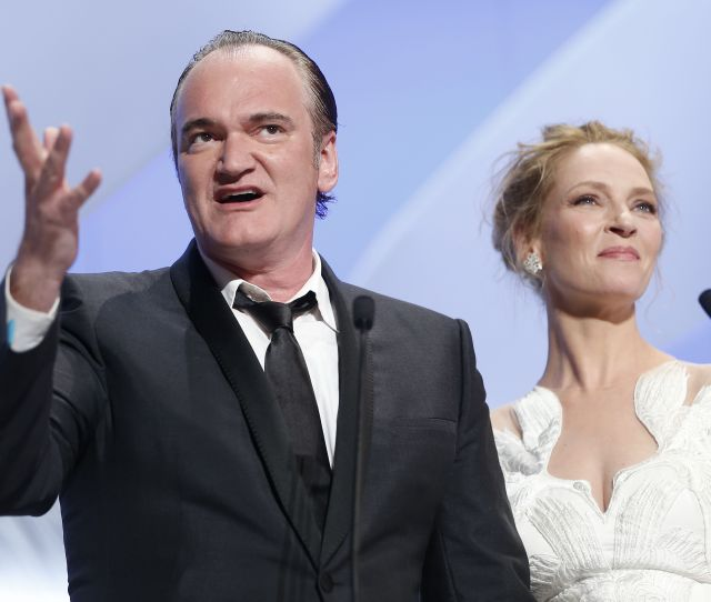 Quentin Tarantino Tells All About The Uma Thurman Kill Bill Car Crash Defends Spitting On Her While Filming Scene