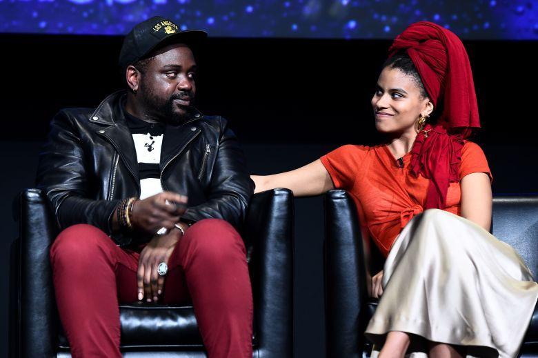 Brian Tyree Henry and Zazie Beetz'Atlanta' TV show FYC event, Panel, Los Angeles, USA - 08 Jun 2018