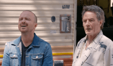 Aaron Paul Discovers Bryan Cranston Has Been Living in the 'Breaking Bad' Meth RV in This Dark-Comedy Short Film — Watch