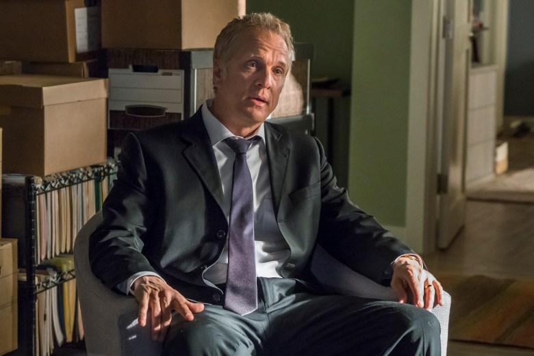 Patrick Fabian as Howard Hamlin - Better Call Saul _ Season 4, Episode 1 - Photo Credit: Nicole Wilder/AMC/Sony Pictures Television