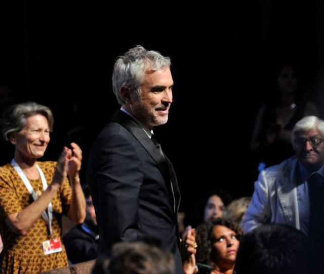 Alfonso Cuaronaward Ceremony Show 75th Venice International Film Festival Italy 08 Sep