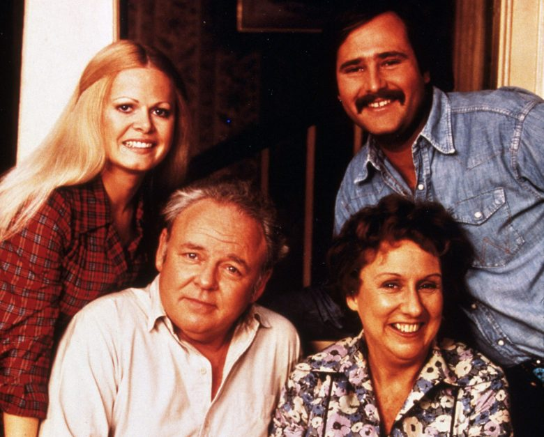 Editorial use onlyMandatory Credit: Photo by SNAP/REX/Shutterstock (390918my)FILM STILLS OF 'ALL IN THE FAMILY - TV' WITH 1983, ENSEMBLE, CARROLL O'CONNOR, ROB REINER, JEAN STAPLETON, SALLY STRUTHERS IN 1983Nigel Bruce