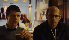 'The Hummingbird Project' Trailer: Jesse Eisenberg & Bald Alexander Skarsgård Take on Wall Street