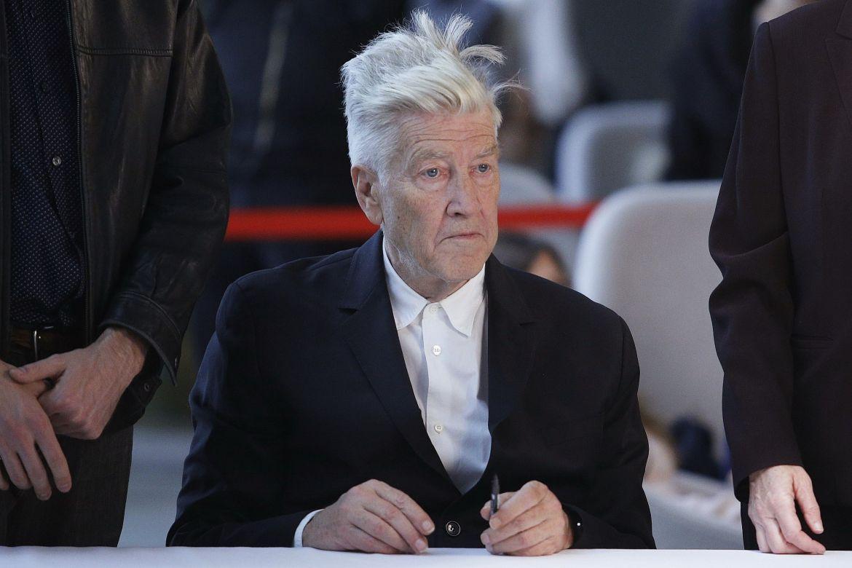 David Lynch, Paris Photo 2017, Grand Palais, France - 10 Nov 2017