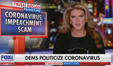 Trish Regan Out at Fox Business After Referring to Coronavirus as 'Impeachment Scam'