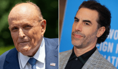 Rudy Giuliani Called Police After 'Absurd' Sacha Baron Cohen Interview Prank