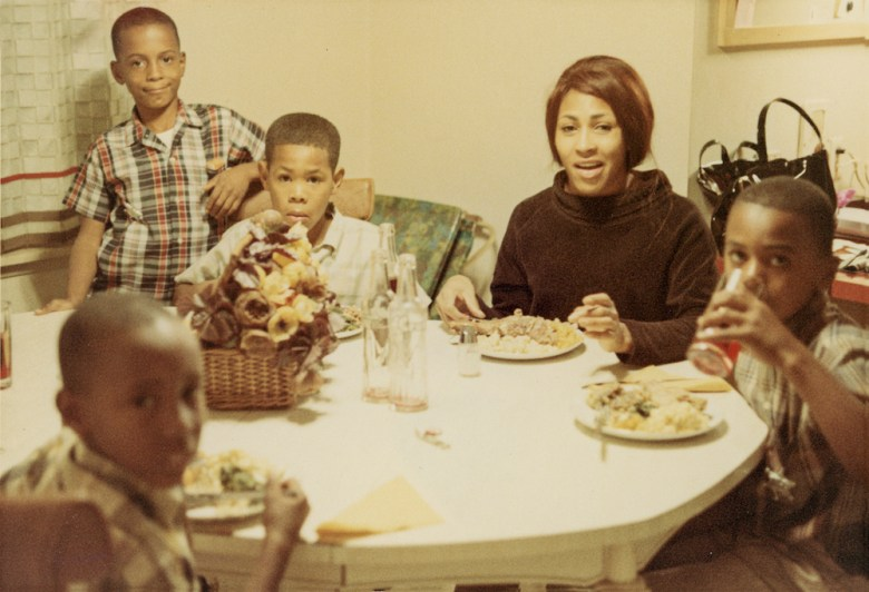 """Tina Turner and her children in the HBO documentary, """"Tina"""""""