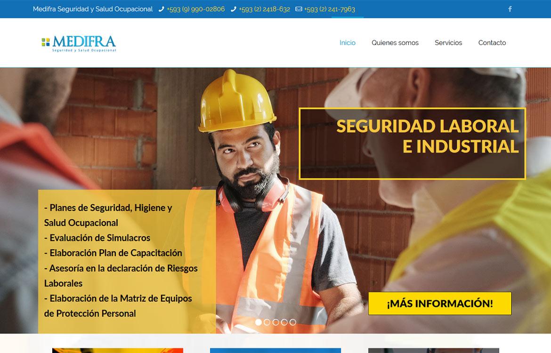 Medifra Homepage