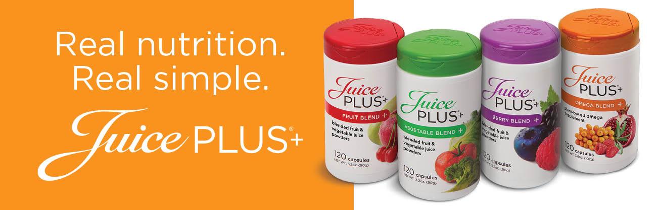 real nutrition Juice Plus