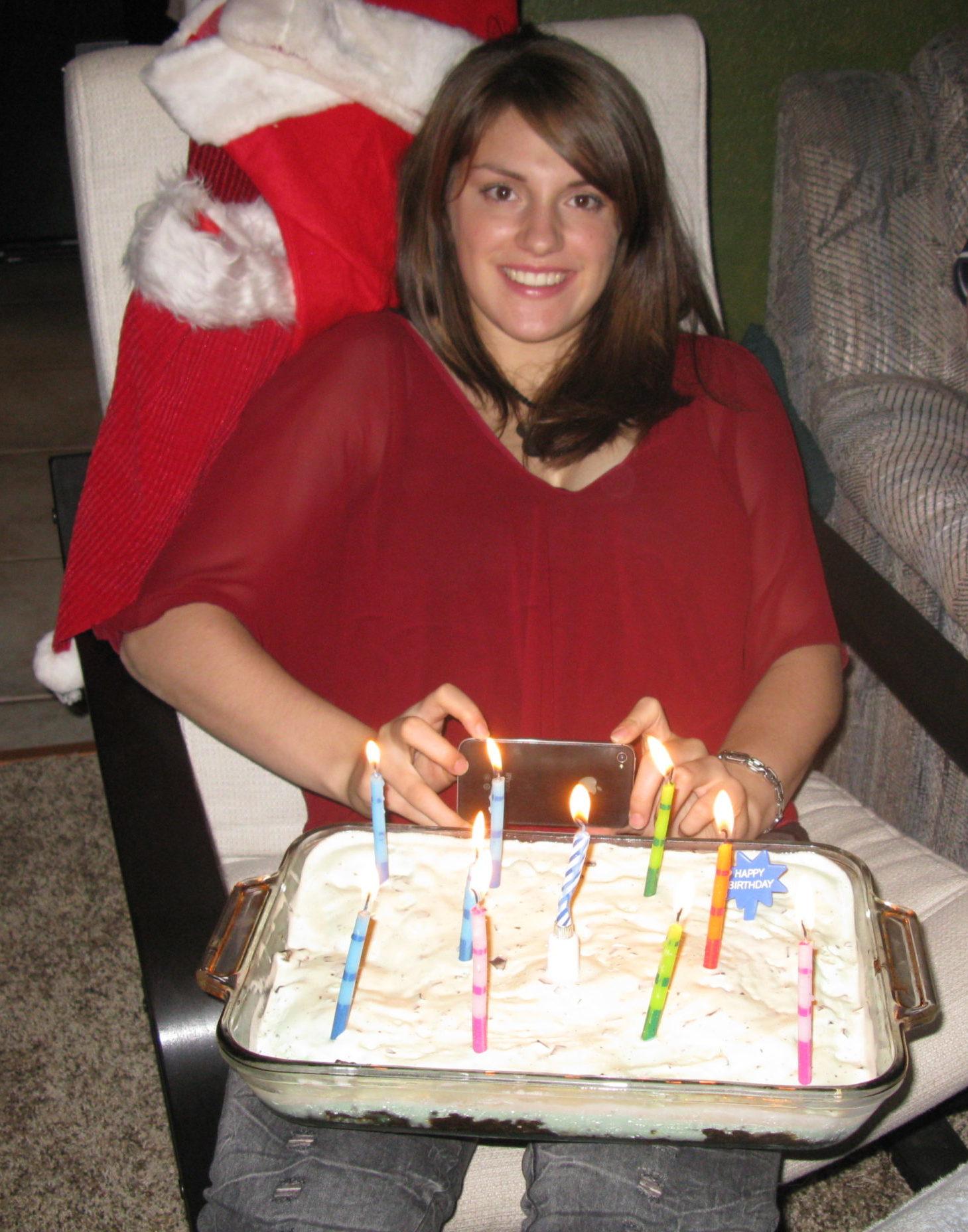 Angela's birthday cake