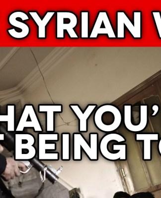 Kdo stoji za vojno v Siriji