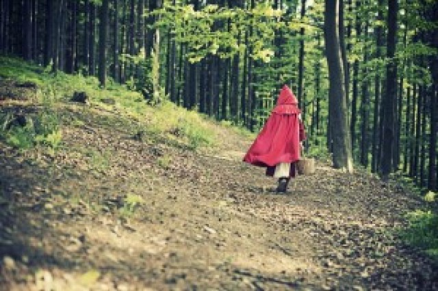 Zgodba - Rdeča kapica