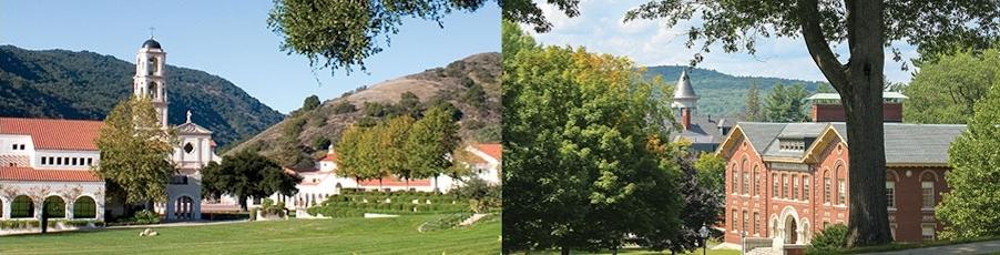 Thomas Aquinas College located in Santa Paula, CA or Massachusetts.