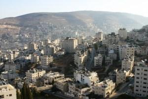 La città di Nablus