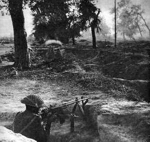 Immagine d'epoca della seconda guerra del Kashmir. Punto principale della disputa tra India e Pakistan