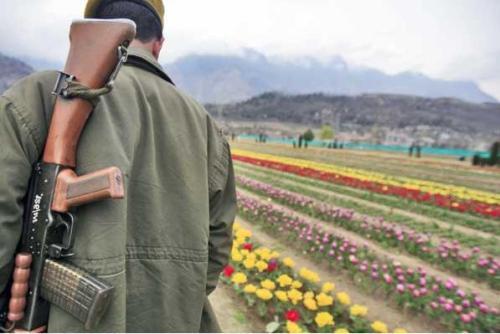Kashmir, foto tratta da Express India