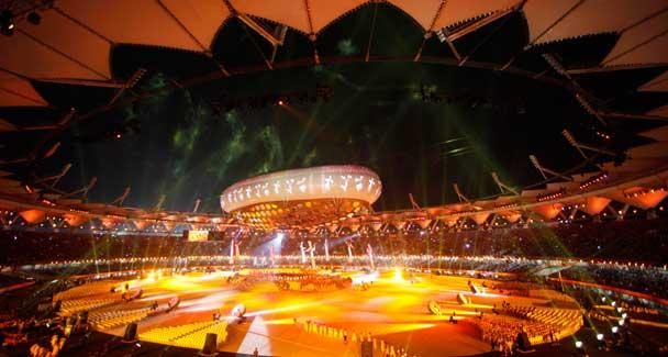 Orgoglio indiano al muro per i Giochi del Commonwealth