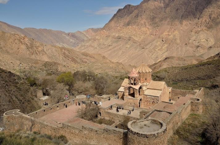 Il Monastero di San Estephanos. Jolfa, Iran settentrionale