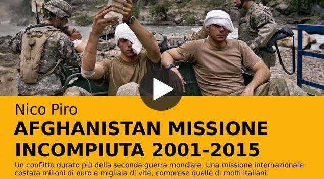 Afghanistan missione incompiuta 2001-2015. Un crowdfunding da sostenere