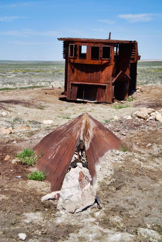 Rottami di nave lago Aral