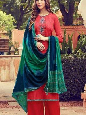 Deepsy Panghat 6 Silk Cotton Print With Embroidery Suit 51005 Ready To Ship