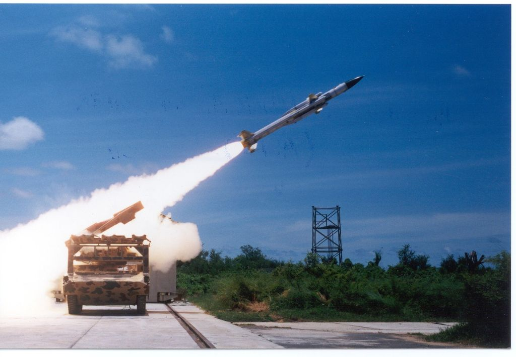 Akash Surface-to-Air Missile (SAM) System, India