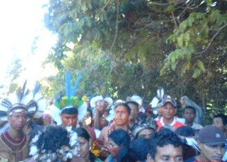 protesto Pataxo