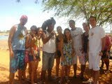 Estudantes da UEFS na comunidade Tuxá de Rodelas.