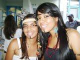 Maiane faz farmácia e Deysinha Enfermagem ambas de etnia Tuxá estão super felizes com a política de permanência  da UEFS e com toda sua estrutura e trabalho a favor dos indígenas.