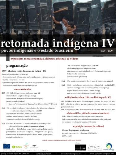 Retomada Indigena IV PUC-SP 19 a 24/09/2011