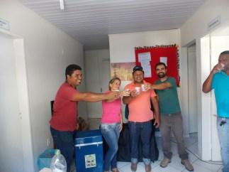 Comemoração do Consultorio movel de Odontologia-SASAI-Foto ARARAWÃ BAENÃ