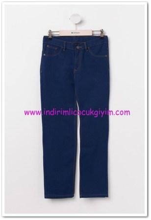 DeFacto genç erkek mavi 5 cepli pantolon-27 TL