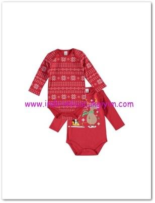 LCW yenidoğan erkek bebek kırmızı 2li iç body-23 TL