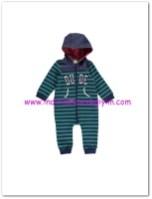LCW yenidoğan erkek bebek kapüşonlu çizgili tulum-25 TL