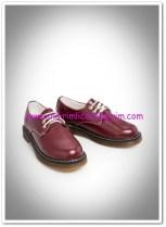 Mango kız çocuk kiraz kırmızısı ayakkabı-80 TL
